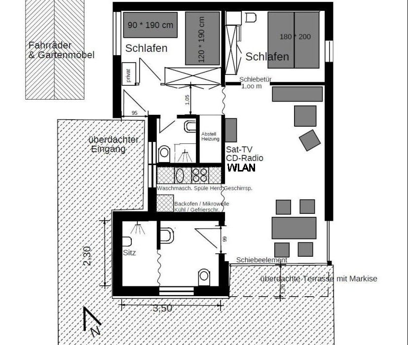komfortables ferienhaus am friesenstrand tossens ideal f r familien. Black Bedroom Furniture Sets. Home Design Ideas